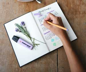 beneficios de un diario personal