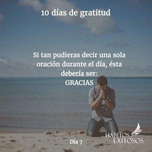 10 días de gratitud - Día 7 - Hábitos Exitosos