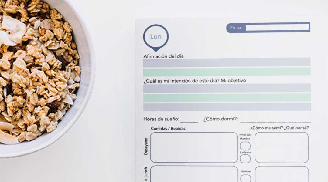 Cómo un diario de alimentos te ayuda a perder peso y mejorar tu salud