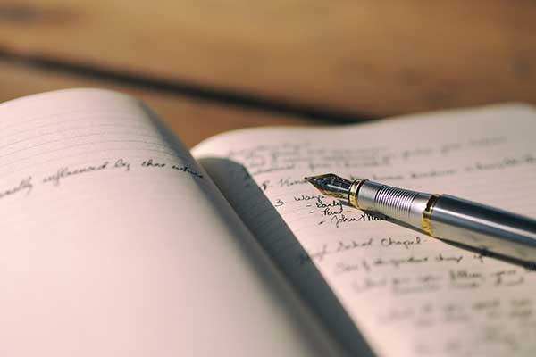 Escribe un diario personal