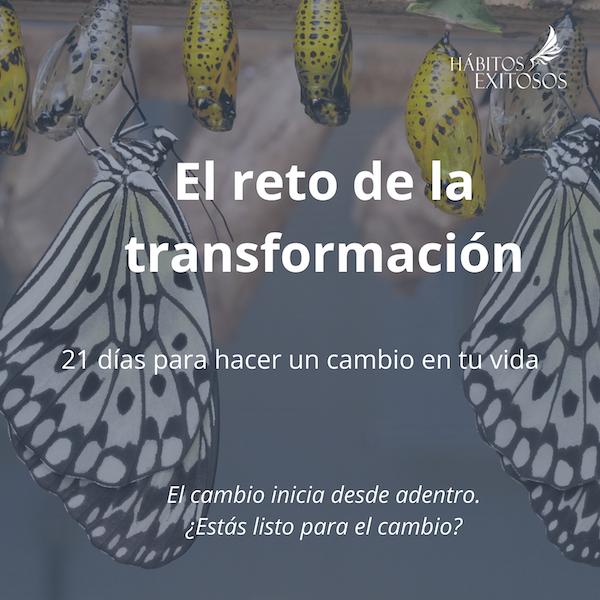 Reto de la Transformación - Angie Ramos Life Coach