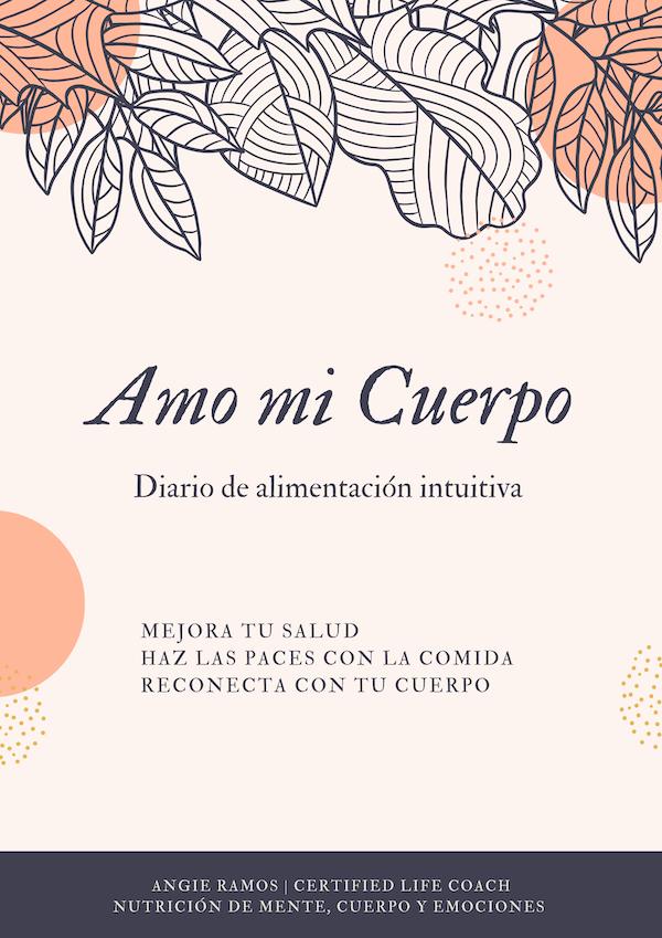 Diario alimentacion intuitiva - Angie Ramos