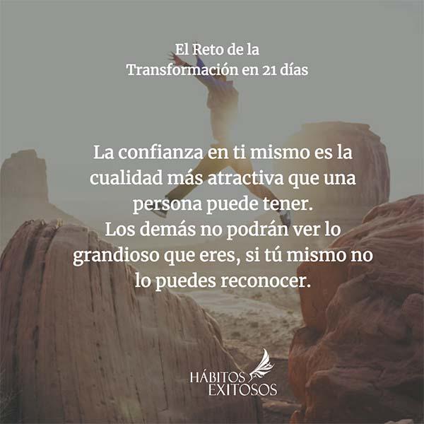 Confianza en ti mismo - Reto de la Transformación - Angie Ramos