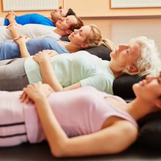 ejercicios de respiracion profunda - angie ramos