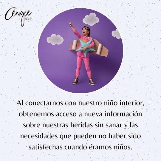 Conectar con tu niño interior - Angie Ramos